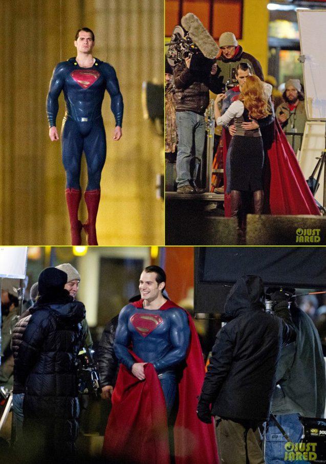 ... BatmanvSuperman #ClarkKent #batmanvssuperman #Illinois #MovieSet Movieset