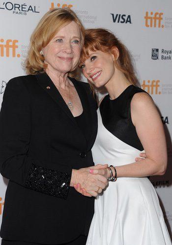 Liv Ullmann y Jessica Chastain