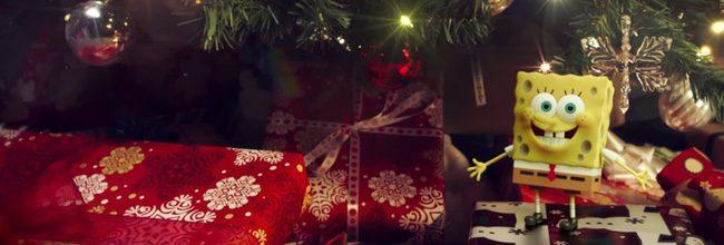 Bob Esponja felicita la Navidad