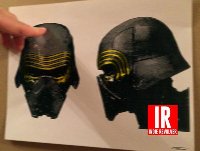 Máscara villano 'Star Wars: El despertar de la fuerza'