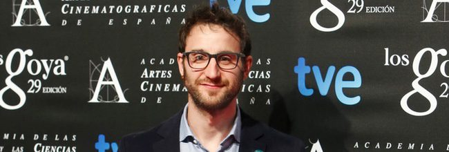 Dani Rovira en la fiesta de los nominados a los Goya 2015