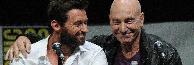 Hugh Jackman y Sir Patrick Stewart