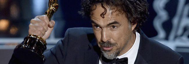 Alejandro González Iñárritu en los Oscar 2015