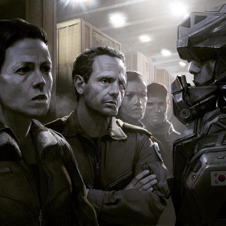 Concept Art de 'Alien 5'