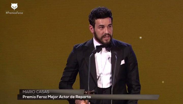 Mario Casas, Premio Feroz 2016 al mejor actor de reparto