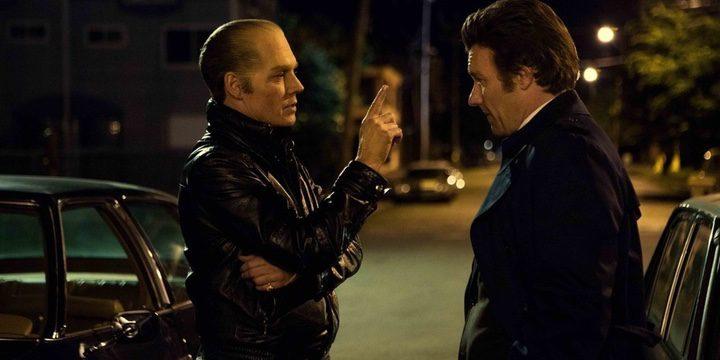 Johnny Depp y Joel Edgerton en 'Black Mass: Estrictamente Criminal'