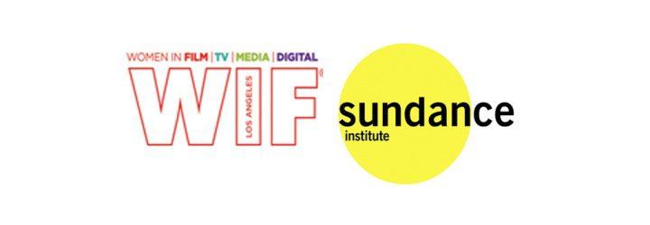 Logo WIF y Sundance Institute