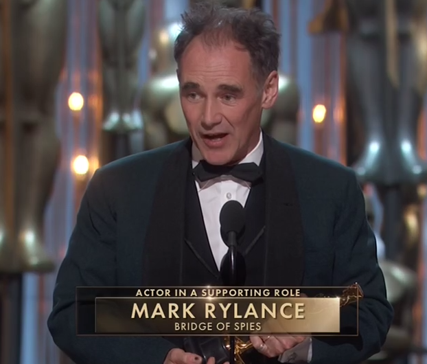 Mark Rylance gana Mejor Actor Secundario