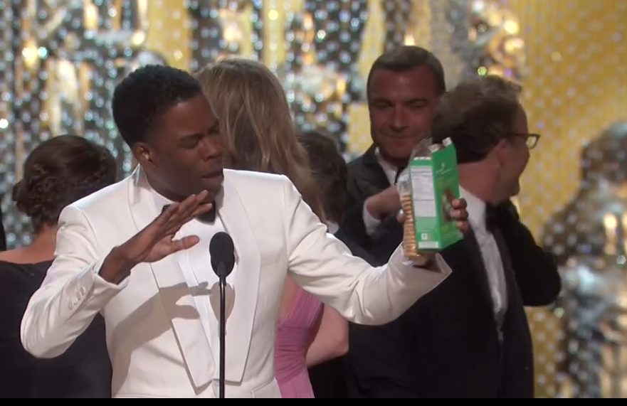 Chris Rock se despide de los Oscars 2016