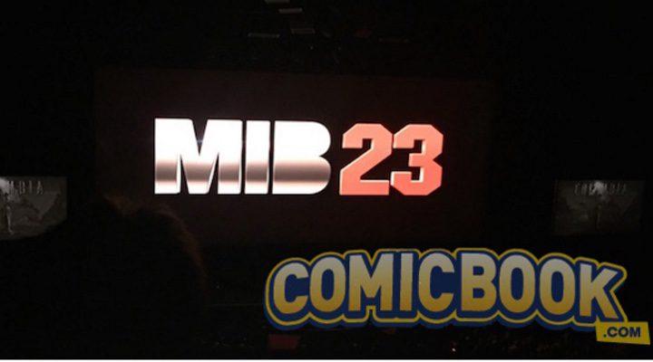 Tipografía provisional de 'MIB 23'