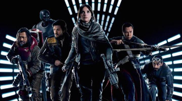 Los protagonistas rebeldes de 'Rogue One'