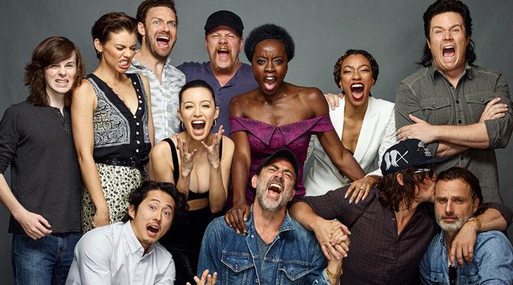 The Walking Dead Temporada 6 Cartel Fondos Fondos De: 'The Walking Dead': Los Protagonistas Se Despiden De La