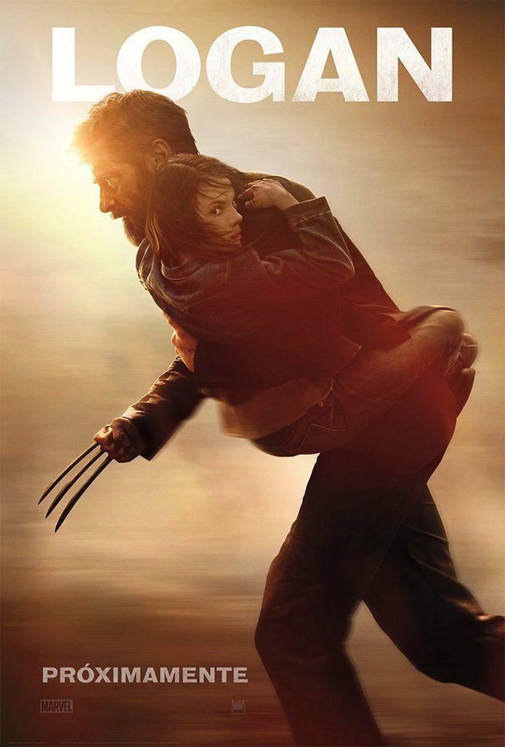 Hugh Jackman y Dafne Keen en 'Logan'