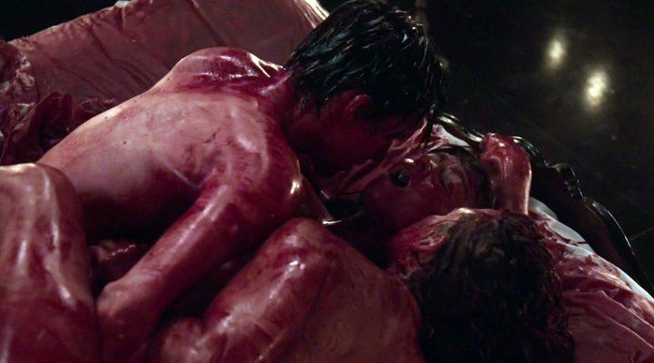 Fotograma de la orgía sangrienta de 'Penny Dreadful'