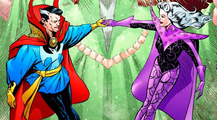 Doctor Strange y Clea en el cómic
