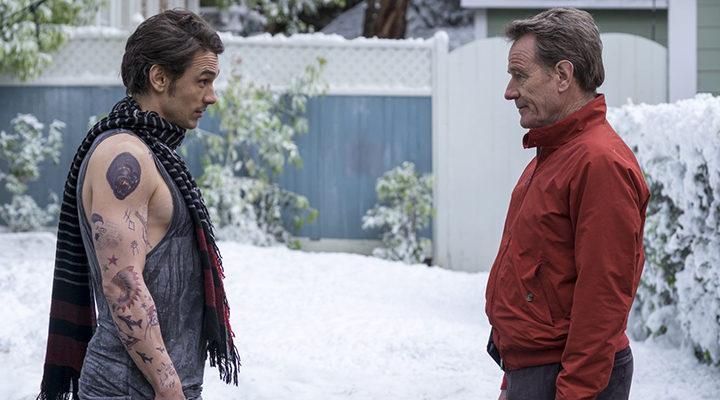 James Franco y Bryan Cranston en '¿Tenía que ser él?'