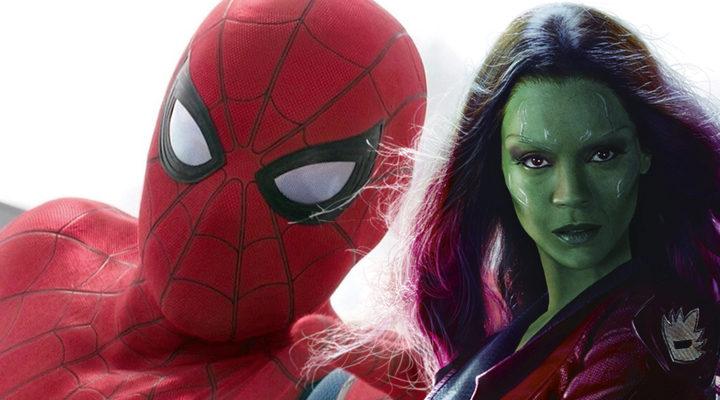 Spider-Man y Gamora
