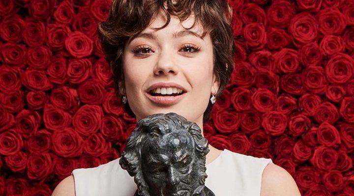 Anna Castillo en los Goya 2017