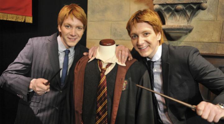 Los hermanos Phelps, de 'Harry Potter'