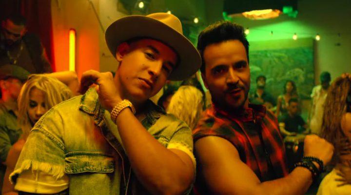 Luis Fonsi y Daddy Yankee en el videoclip de