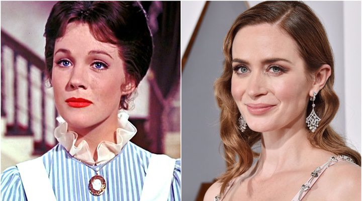 Julie Andrews y Emily Blunt