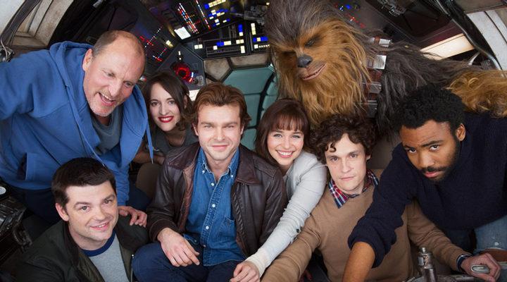 Imagen del rodaje de 'Han Solo: A Star Wars Story'