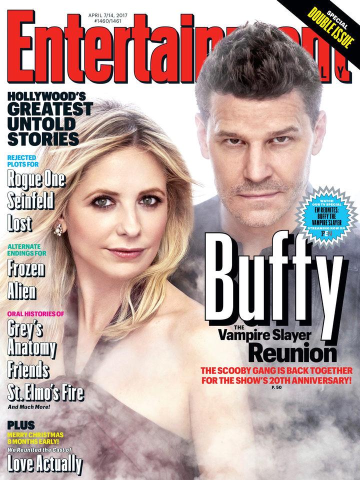 20 aniversario de 'Buffy Cazavampiros' en Entertainment Weekly