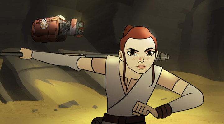 Rey, 'Star Wars: Forces of Destiny'
