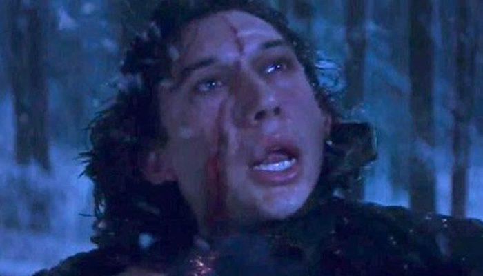 Kylo Ren, su cicatriz en 'El despertar de la fuerza'