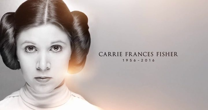 Homenaje Carrie Fisher