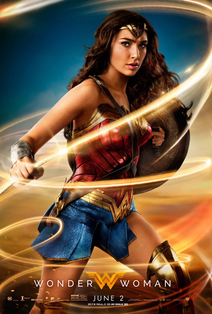 Cartel promocional de 'Wonder Woman'