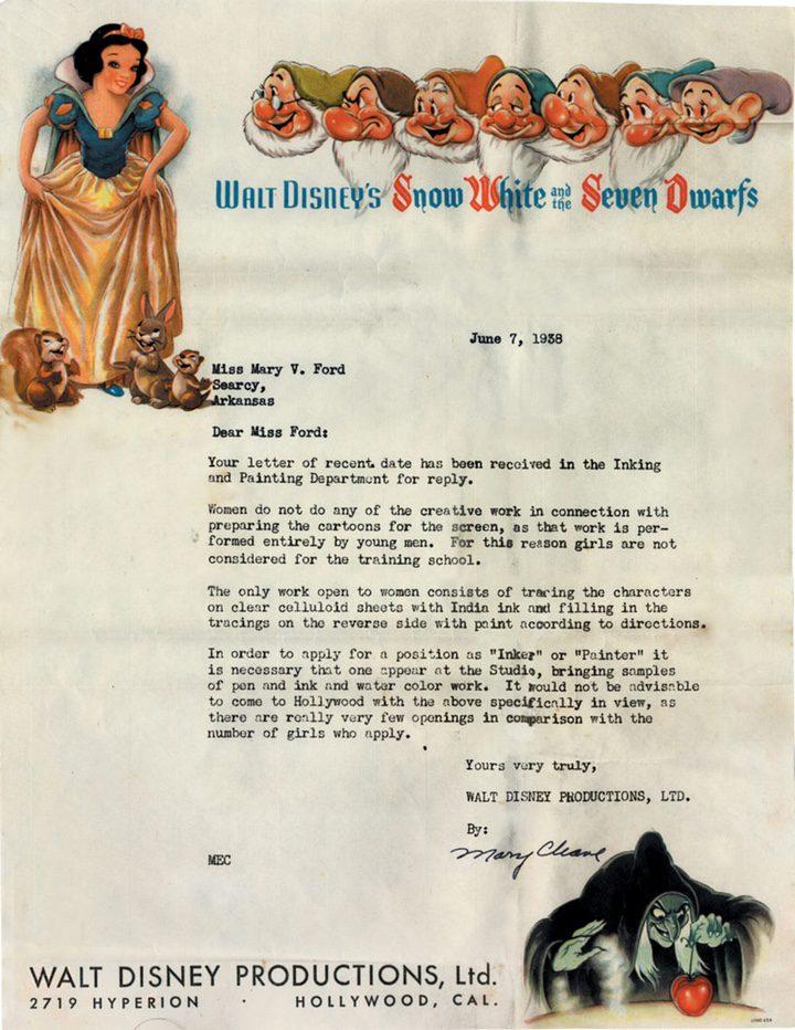 Carta de Disney