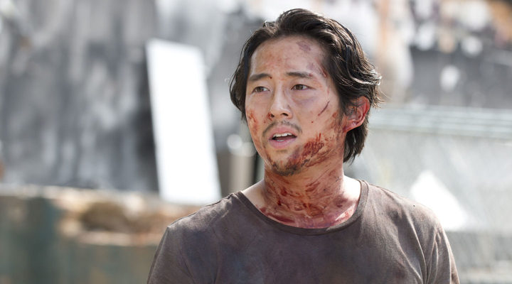Glenn en 'The Walking Dead'
