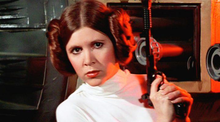 Carrie Fisher como Leia Skywalker