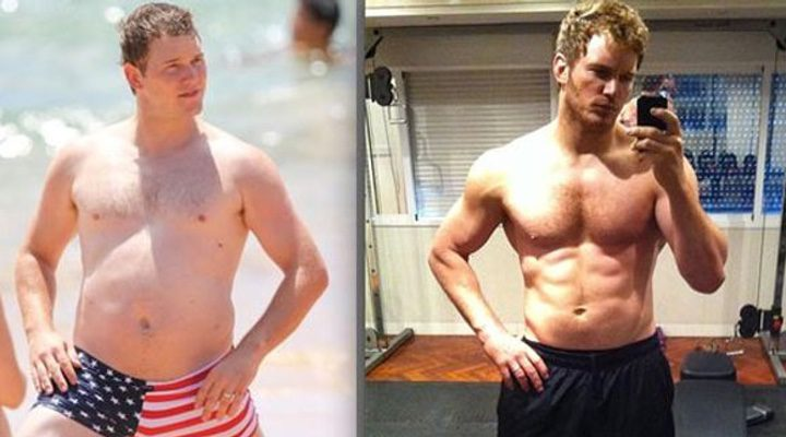 El drástico cambio de Chris Pratt