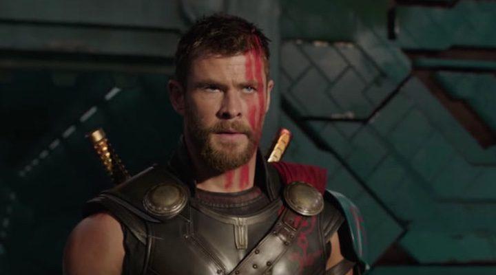 Chris Hemsworth como Thor en 'Ragnarok'