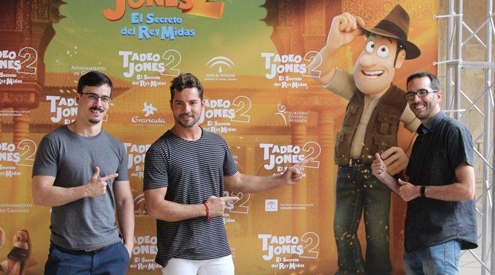 David Alonso, David Bisbal y Enrique Gato