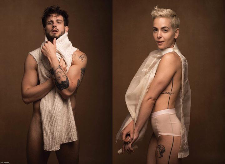 Nico Tortorella y Bethany Meyers