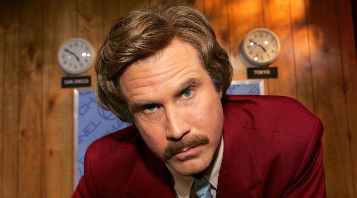 Will Ferrell en 'Anchorman'