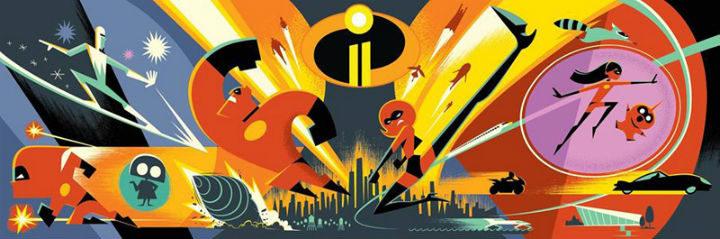Primer concept art de 'Los Increíbles 2'