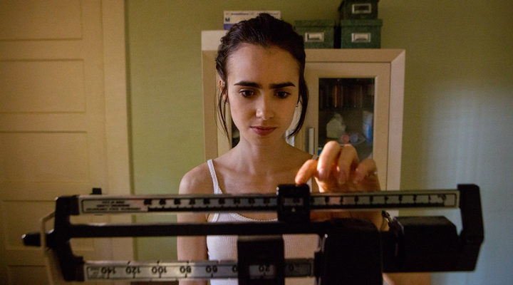 Lily Collins en 'Hasta los huesos'