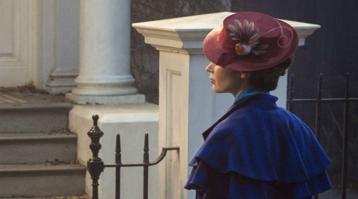 Emily Blunt como Mary Poppins