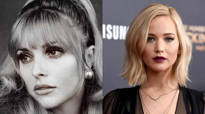 Sharon Tate y Jennifer Lawrence