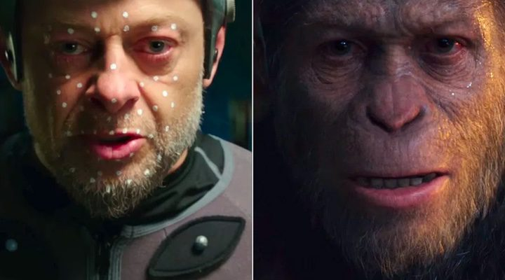 'War of the planet of the apes': Andy Serkis shows the difficult job of giving life to Caesar