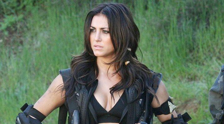 Cassie Scerbo en 'Sharknado 3'