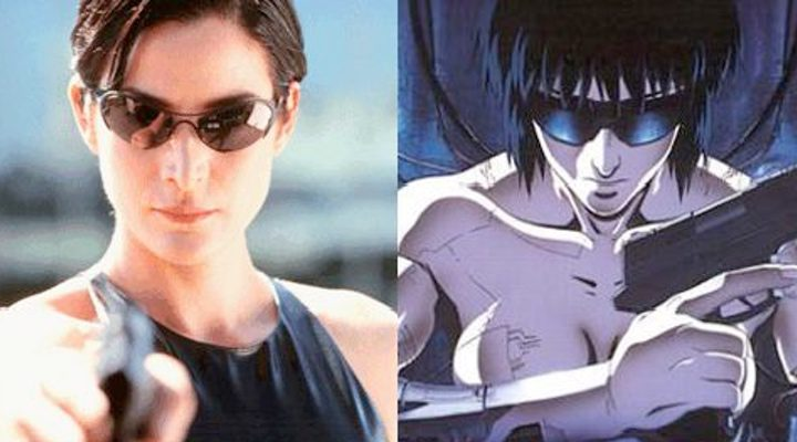 'Matrix' y 'Ghost in the Shell'