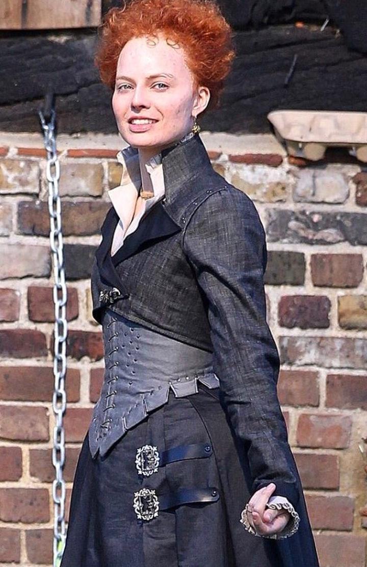 Margot Robbie en 'Mary Queen of Scots'
