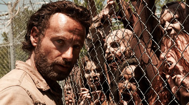 Andrew Lincoln en 'The Walking Dead'