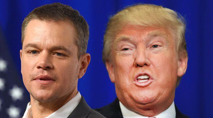 Matt Damon and Trump