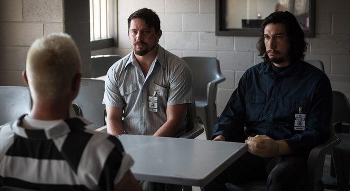 Steven Soderbergh en un descanso del rodaje de 'Logan Lucky'
